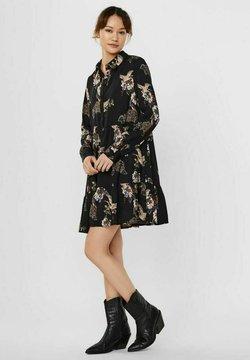Vero Moda - Vestido camisero - black