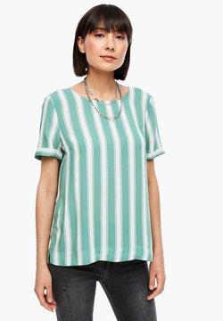 Q/S designed by - KURZARM - Bluse - sea green stripes