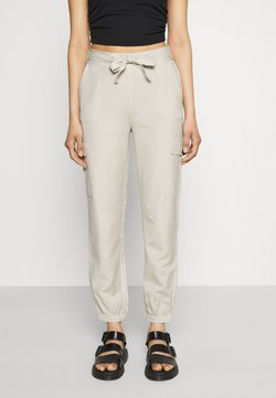 ONLY - ONLVIVA LIFE PANT - Cargo trousers - pumice stone