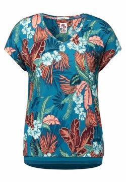 Cecil - T-Shirt print - türkis