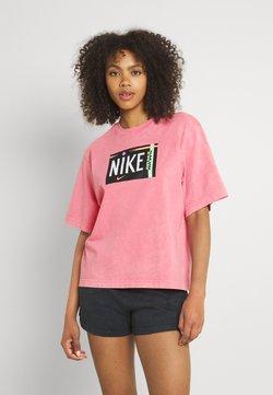 Nike Sportswear - TEE WASH - T-shirt con stampa - sunset pulse
