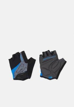Ziener - CRAVE - Kurzfingerhandschuh - grey melange/persian blue
