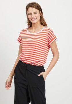 Vila - VIDREAMERS PURE  - T-Shirt print - cherry tomato