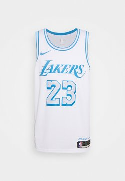 Nike Performance - NBA LOS ANGELES LAKERS LEBRON JAMES CITY EDITION SWINGMAN  - Pelipaita - white/coast