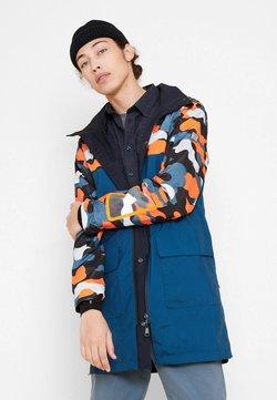 Aigle - Blouson - bleu marine/orange