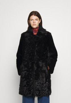 STUDIO ID - BELLA COAT - Leren jas - black