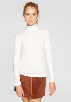 Stradivarius - Langærmede T-shirts - white