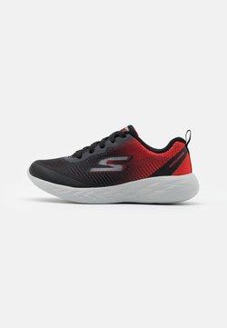 Skechers Performance - GO RUN 600 HADDOX UNISEX - Juoksukenkä/neutraalit - black/red/charcoal