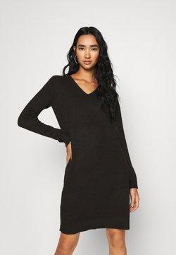 Vila - VIMILLA DRESS - Vestido de punto - black