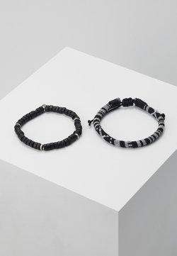 Classics77 - CORUMBA COMBO 2 PACK - Bracelet - black