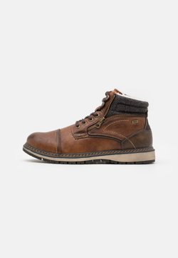 TOM TAILOR - Schnürstiefelette - brown