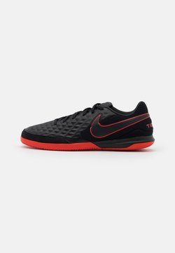 Nike Performance - TIEMPO LEGEND 8 ACADEMY IC - Fußballschuh Halle - black/dark smoke grey/chile red