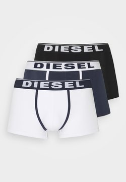 Diesel - DAMIEN 3 PACK - Panties - white/blue/black