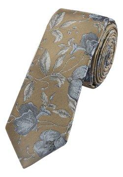 Next - FLORAL  - Krawatte - brown