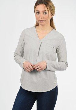 Blendshe - LANGARMBLUSE STACEY - Bluse - opal grey