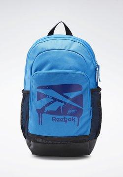 Reebok - TRAINING BACKPACK - Reppu - blue