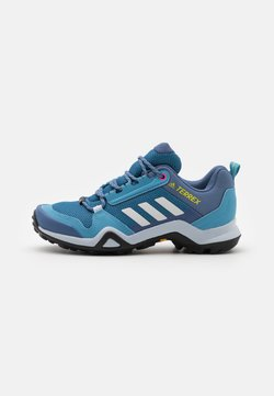 adidas Performance - TERREX AX3 - Hikingschuh - haze blue/crystal white/screaming pink