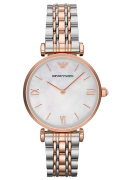 Emporio Armani - Uhr - silver-coloured/rosègold-coloured