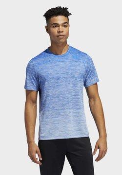 adidas Performance - TECH GRADIENT T-SHIRT - T-Shirt print - blue
