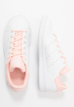 adidas Originals - STAN SMITH - Baskets basses - footwear white/haze coral