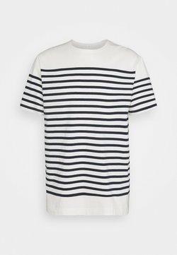 ARKET - STRIPES - T-Shirt basic - white