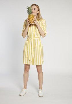 More & More - Blusenkleid - gelb