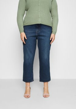 Levi's® Plus - 501 CROP - Slim fit jeans - charleston outlasted