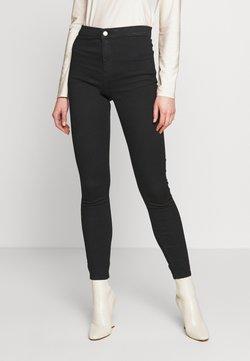 Topshop - HOLDING POWER JONI - Jeans Skinny Fit - black