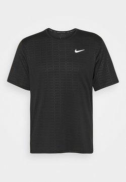 Nike Performance - MILER EMBOSS - T-Shirt print - black