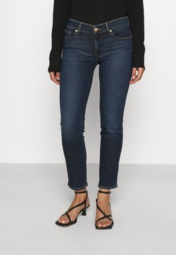 7 for all mankind - ROXANNE ANKLE LUXVINCHA - Slim fit jeans - dark blue