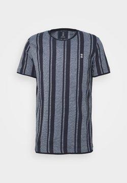 Nerve - SIMON TEE - T-Shirt print - navy blazer