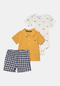 Carter's - SET - Camiseta estampada - yellow/blue