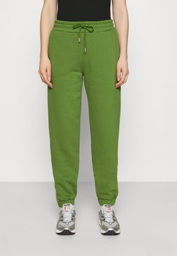 Selected Femme - SLFALANA PANTS - Jogginghose - twist of lime