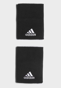adidas Performance - TENNIS WRISTBAND LARGE - Svettebånd - black
