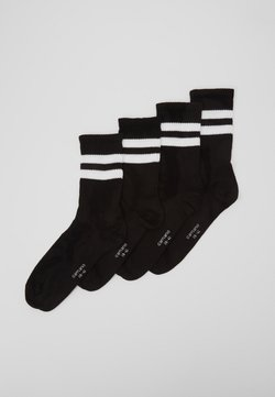 camano - ONLINE UNISEX FASHION 4 PACK - Socken - black