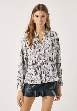 PULL&BEAR - Camicia - white