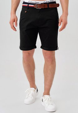 INDICODE JEANS - Short - black