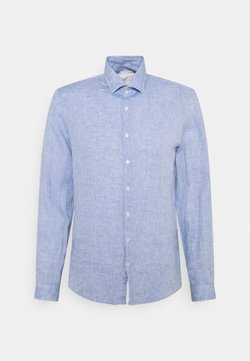 Calvin Klein Tailored - SOLID SLIM SHIRT - Camicia elegante - blue