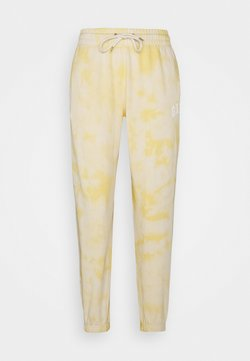 GAP - EASY - Jogginghose - yellow tie dye