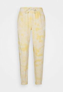 GAP - EASY - Jogginghose - yellow tie dye