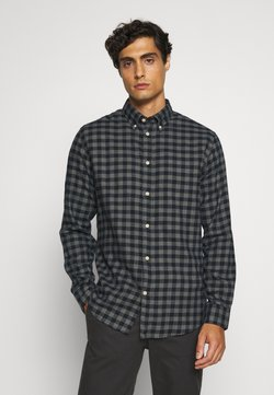 Selected Homme - SLHSLIMFLANNEL SHIRT - Hemd - dark blue