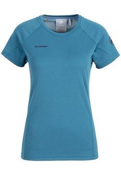 Mammut - AEGILITY - T-shirt z nadrukiem - sapphire