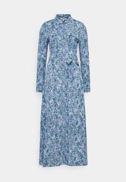 mbyM - BEATA - Vestido camisero - blue
