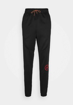 Jordan - PANT - Jogginghose - black/chile red
