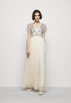 Needle & Thread - PRAIRIE FLORA BODICE DRESS - Occasion wear - champage
