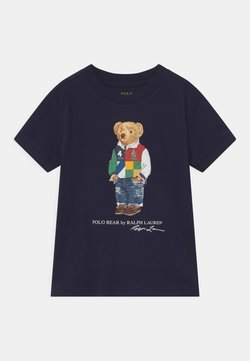 Polo Ralph Lauren - T-shirt med print - cruise navy