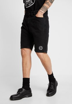 YOURTURN - Shorts di jeans - black