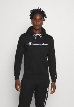Champion - LEGACY HOODED - Huppari - black