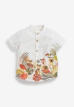 Next - BORDER PRINT - Hemd - white