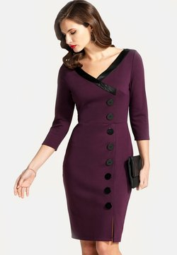 HotSquash - Vestido de tubo - dark purple